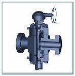 gear gate valve