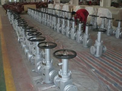 PI 6A gate valve 3-18-2M flange end